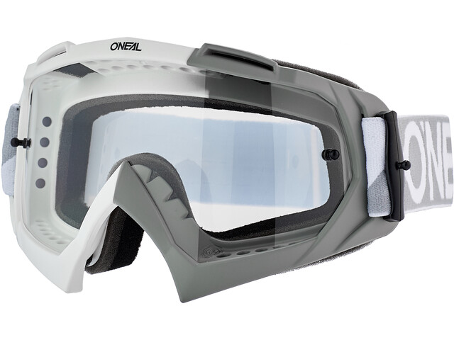 O'Neal B-10 Goggles twoface-white/gray-clear